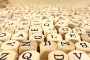 アルファベットの画像