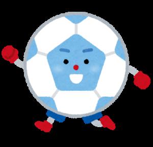 サッカーボールのキャラクター